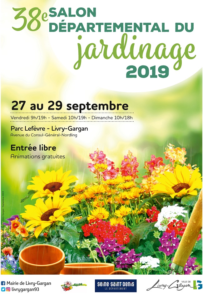Affiche salon jardinage v1