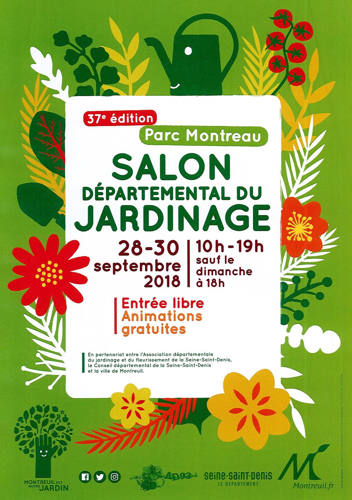 37ème salon du Jardinage à Montreuil - 2018